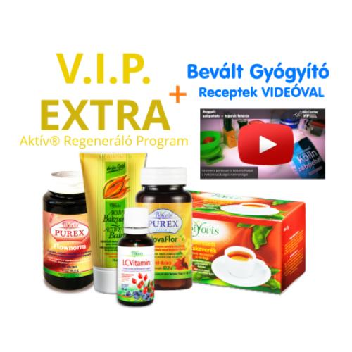 VIP EXTRA Aktív® Regeneráló Program