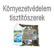 Környezetvédelem, tisztítószerek