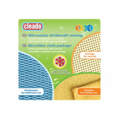 Cleado Mikroszálas törlőkendő