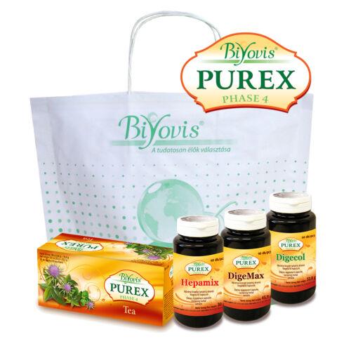Purex Phase 4. Májvédő és Májregeneráló csomag